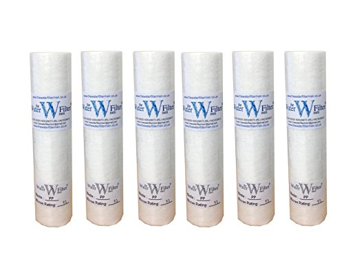 10 PP Sediment 10mic Sediment Particle Water Filter Cartridge 10 Micron by The Water Filter Men (Micron Sediment-filter)