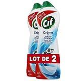 CIF Crème à Récurer Original, Nettoyant Multi-Surfaces (Lot de 2x750ml)...