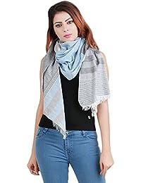 Anekaant Cotton Stripe Stole 70X180 cm