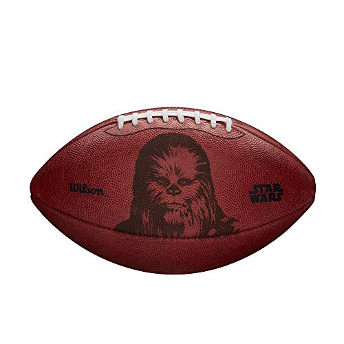WILSON Star Wars Fußball aus Leder, Sporting Goods Star Wars Official Leather Football: Chewbacca, Official