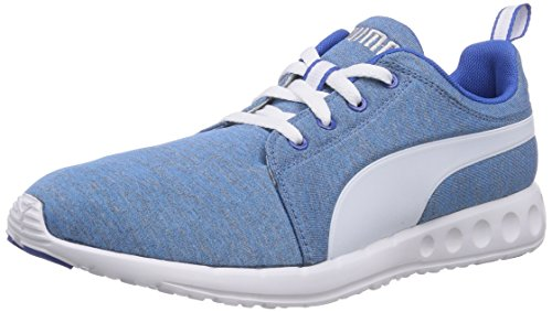 Puma Carson Runner Heather Herren Laufschuhe Blau (strong blue-white-puma silver 01)