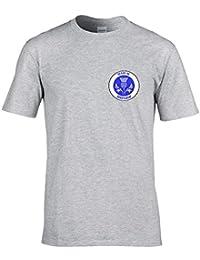 Ice-Tees Made In Scotland- Scottish National Pride Badge Men's Tshirt