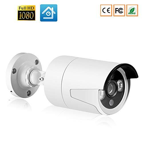 QUARKJK Full IP HD Camera della Cassa del Metallo IP67 Impermeabile Home Security Camera System ONVIF 25m di Visione Notturna P2P RTSP XMEye,720P