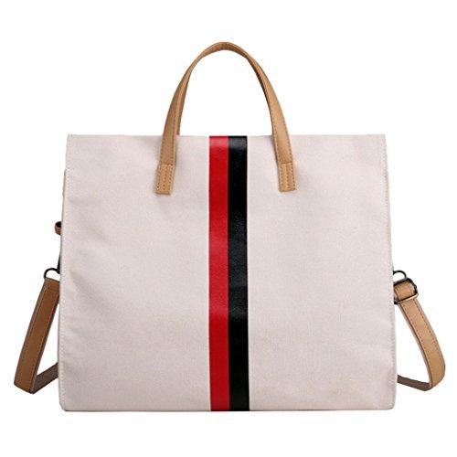 Super Modern, Borsa a zainetto donna, White (bianco) - ZY1308-White/UK White