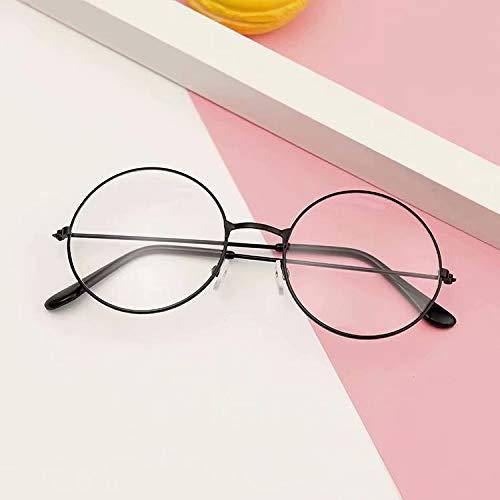 La vogue Brille Nerdbrille Retro Rund Unisex