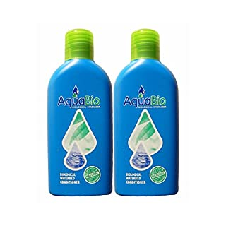 2x Aqua Bio Concentrate Natural Water Bed Conditioner Water Conditioner, Chemical Free Blowing Air Smells for Waterbeds