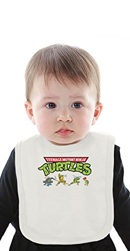 teenage mutant ninja turtles Organic Baby Bib With Ties Medium