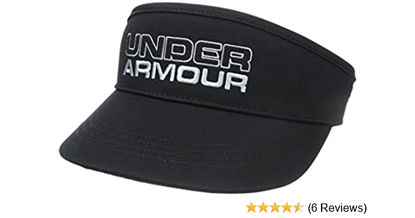 b3bab143a69 Under Armour Men s UA Tour Visor II Golf - Hat and Cap Black black Size One  size  Amazon.co.uk  Sports   Outdoors