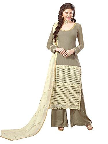 Lilots Gray Georgette party-wear-salwar-kameez