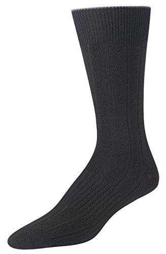Smartwool Herren Lifestyle Freizeitsocken City Slicker Socken, Schwarz (Black 001), 7/10/2018 (Herstellergröße: Large) (Socks Herren Apparel Wool)