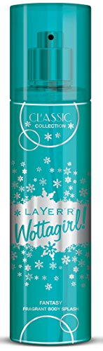 Layer\'r Wottagirl Classic Collection Fantasy Fragrant Body Splash, 135ml