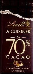 Lindt à cuisiner, Le 70 % cacao : Les meilleures recettes