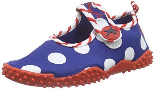 Playshoes UV-Schutz Badeschuhe Seepferdchen 174756, Mädchen Aqua Schuhe, Blau (original 900), 26/27 EU