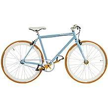 "Herren Fixie / Starrgangrad Herrenrad 28"" +++ ProMax +++ Blau, Himmelblau, Blue"