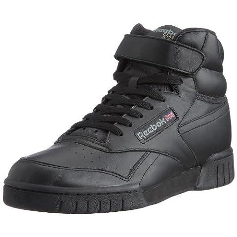 Reebok Ex-O-Fit HI, Herren Hohe Sneakers, Schwarz (Int-Black), 42.5 EU (8.5 Erwachsene UK)