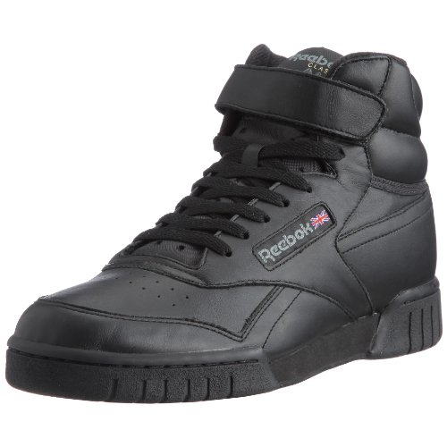 Reebok - Ex-O-Fit Hi, Sneakers unisex, Nero (Black), 38 1/3 EU