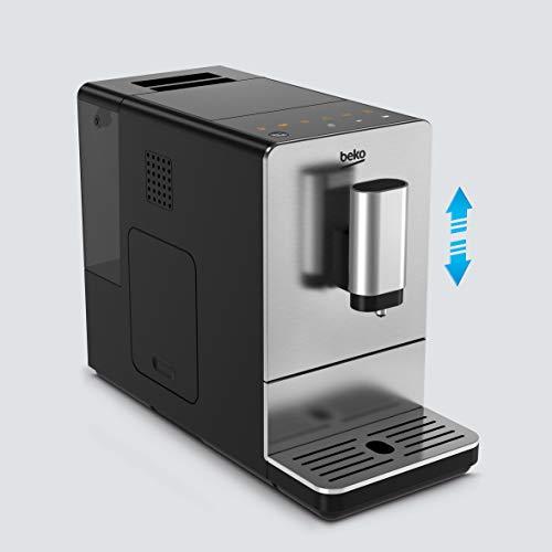 Beko CEG5301X Espressomaschine mit integriertem Kaffeemühle Edelstahl