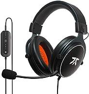 Cuffie da Gioco Fnatic REACT+ per Esport con Driver da 53mm, Suono Surround 7.1 Preciso e Scheda Audio USB Ava