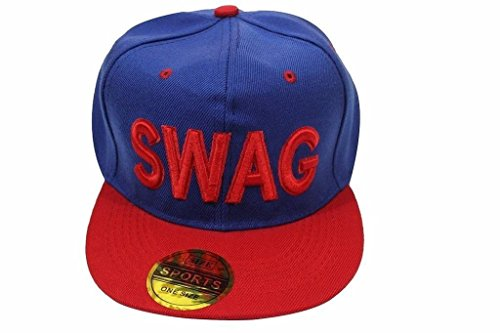 Malvina Blue Swag Hip Hop Snapback Cap  available at amazon for Rs.225