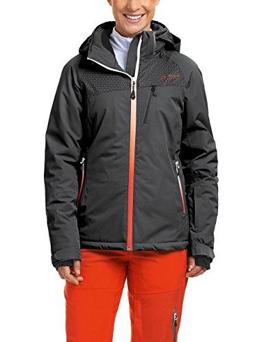 Maier Sports Damen Skijacke Wattiert Calafate Black 42