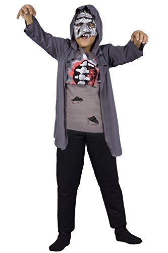 Ciao - young zombie costume halloween, 7-10 anni