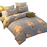 Minogue Multi Color Double Bedding Set, Double/Full size bedsheet 250/250-bedcover-220/240-pillow50/70