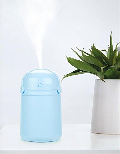 Shenhai Humidificador Mini Home Office Escritorio silencioso Dormitorio Aire Hidratación Spray Coche Portátil, Azul