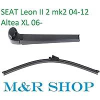 Aero trasera limpiaparabrisas hoja Set Seat Leon II 2 Mk2 04 – 12 Altea XL,
