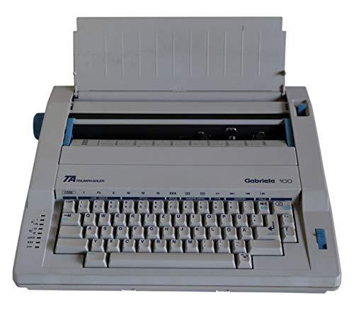 Triumph + Adler Gabriele 100 elektrische Schreibmaschine