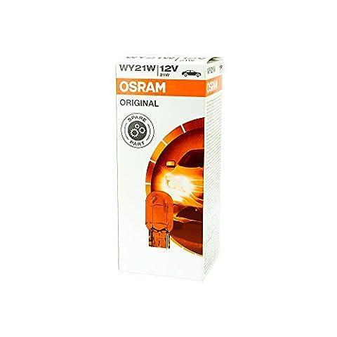 10x Osram Ampoules 12V 21W Wx3x 16d antibrouillard lumière de frein Feu arrière