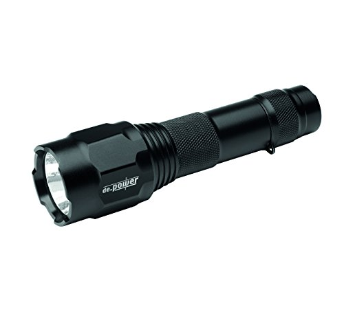 de.power LED Taschenlampe 2x CR123A, 690 Lumen (ANSI) DP-022CR-C