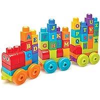 Mega Bloks DXH35 Building Basics ABC Learning Train