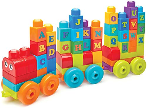 Mega Bloks DXH35 Mattel DXH35-ABC Lernzug