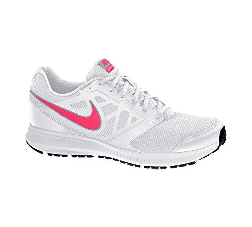 Nike Downshifter 6, Chaussures de Running Compétition Femme Blanc Rose