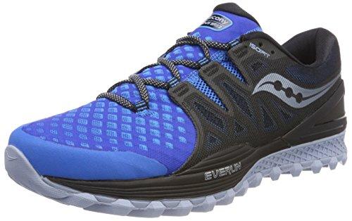 Saucony Xodus Iso 2, Sneakers for Men, Blue (Blu / Blk 5), 45 EU
