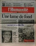 HUMANITE (L') [No 15951] du 25/11/1995 - LE PLAN JUPPE - LOUIS MALLE EST MORT - GUY...