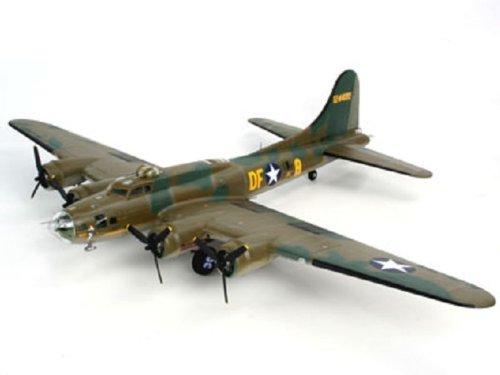 Revell Modellbausatz Flugzeug 1:48 - B-17F Memphis Belle im Maßstab 1:48, Level 5