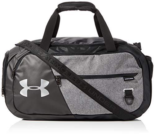 Under Armour Undeniable Duffel 4.0 geräumige Sporttasche, Wasserabweisende Umhängetasche, Grau, Einheitsgröße