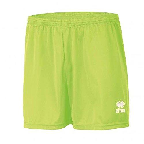 NEW SKIN Trainingsshorts · UNISEX Sporthose in kurz für Jungen & Mädchen · UNIVERSAL Trainingshose für Jugendliche & Kinder Farbe neongrün, Größe XS