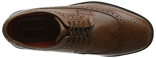 Rockport Antique Wingtip Derby Braun Ii Tan Herren Schn眉rhalbschuhe Details Leather Essential rzwqrnUS