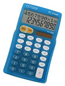 Calipage 362180 FC Junior Calculatrice primaire Bleu