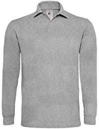 B&C Heavymill - Polo à manches longues - Homme