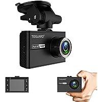 Caméra Embarquée Voiture Mini Dashcam Voiture TOGUARD Avec Écran LCD de 1.5 Pouces, Caméra de Voiture FULL HD 1080P et Grand Angle, Avec Super Condensateur - Enregistrement en Boucle, G-sensor (Capteur de Gravité)
