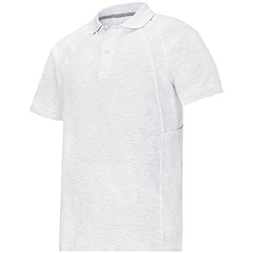 Snickers Classic Poloshirt grau Größe: L aschgrau