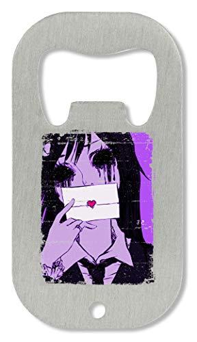 OpenWorld Letter Crazy Horror Girl Darkness Halloween Theme Dangerous Passion Flaschenöffner
