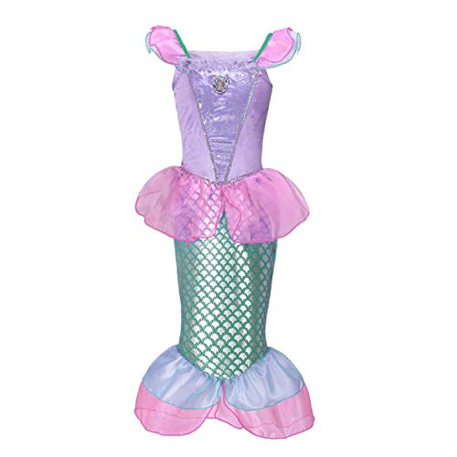 Princess Peach Dress Up - RBHSG Girls Little Mermaid Princess Fancy