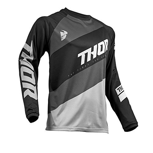 Thor Sector Shear Motocross Jersey 2019 schwarz grau