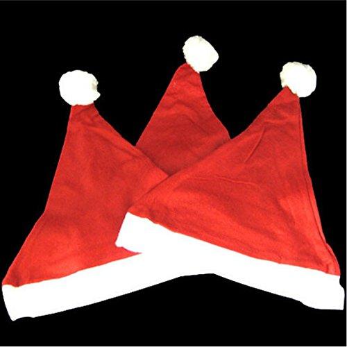 (Kinderkostüm Weihnachtsmannmütze, Plüsch, 2 Gruppen)
