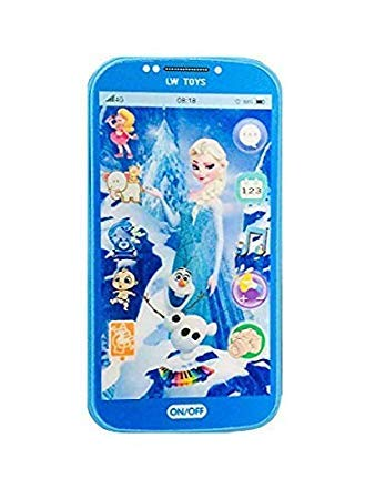 SQUICKLE Kids Toys Digital Mobile Phone with Touch Screen Feature, Amazing Sound and Light Toy (Baby Doll)