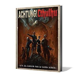 Edge Entertainment- Achtung! Cthulhu: guía del guardián para la Guerra Secreta - español, Color (EEMOAC01)